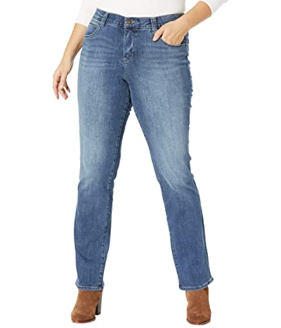 Jag Jeans Ruby Mid-Rise Straight Leg Jeans in Thorn Blue (Thorn Blue) Women