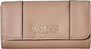 GUESS Women's Heidi SLG Slim Clutch Taupe One Size