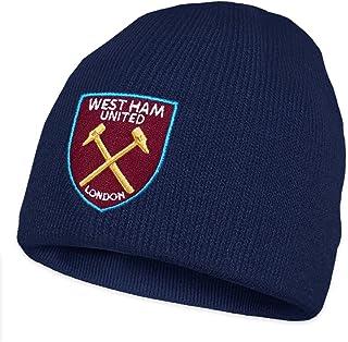 e0088619ba4 West Ham United FC - Gorro básico oficial de punto - Gorro azul marino