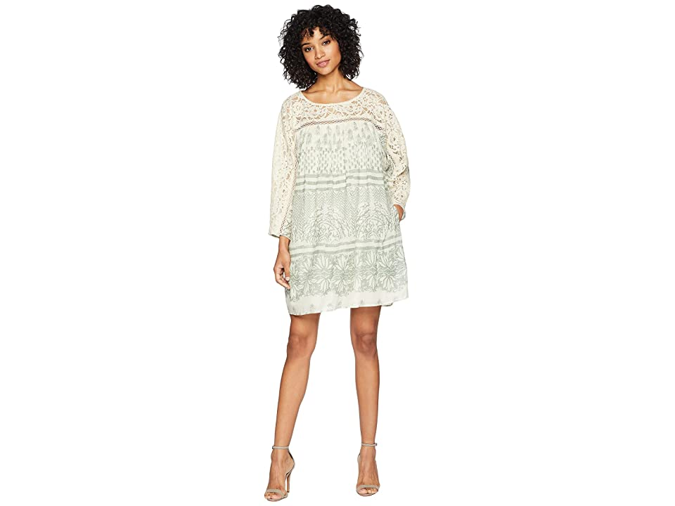 Free People Sun Daze Mini Dress (Ivory) Women