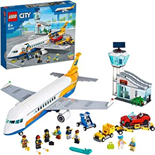LEGO 60262 City Airport Passagerarplan Byggset med Minifigurer, Leksaksflygplan, Leksak för Barn 6+ år