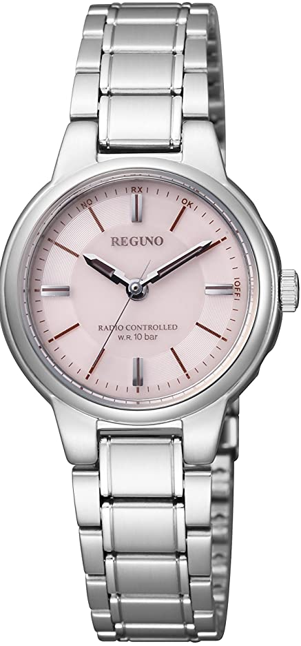 トリッキーサークル状態[シチズン] 腕時計 レグノ ソーラーテック電波 スタンダード ペアモデル KL9-119-93 シルバー