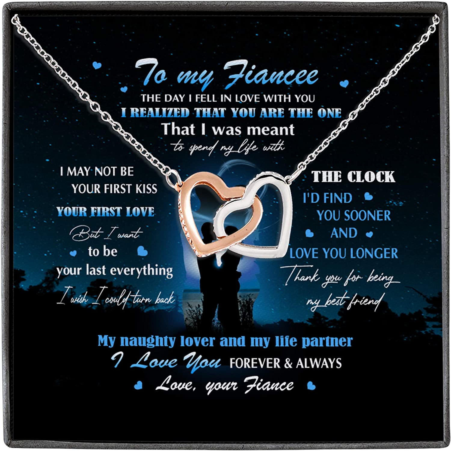 Fiance To My Fiancee The Day I You Love With New Free Shipping Tucson Mall Realized In Fell