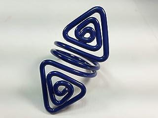 Ronds de serviette,blue.Modele Azimut