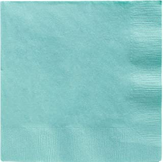 Robin's Egg Blue Beverage Paper Napkins Big Party Pack, 125 Ct.
