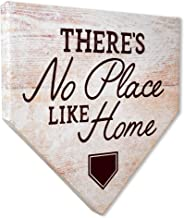 COLLECTIBLE CANVAS There's No Place Like Home Home Plates, Sports, Wall Art for Bedroom, Nursery, and Other Parts of The H...