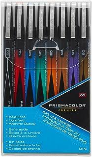 Sanford Prismacolor Premier Markers 8-Pack, Fine Line, Assorted (14174)