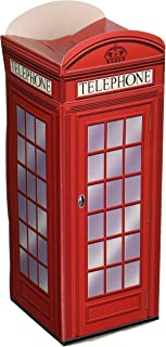 Beistle 54121 Phone Favor Boxes 3 Piece Three Dimension, British Party Decorations, 3