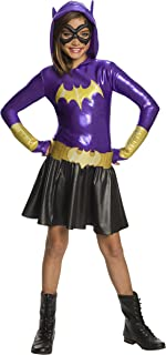 Girls Batgirl Hoodie Dress