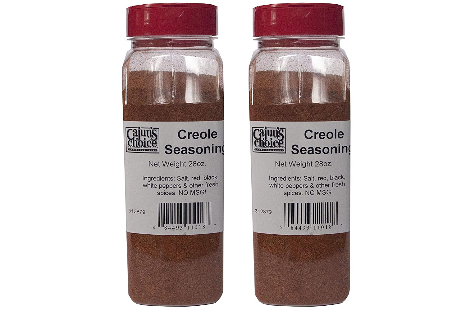 Outlet SALE Creole Seasoning 28 oz Cajun's OFFicial mail order Pack Foods Louisiana 2 Choice