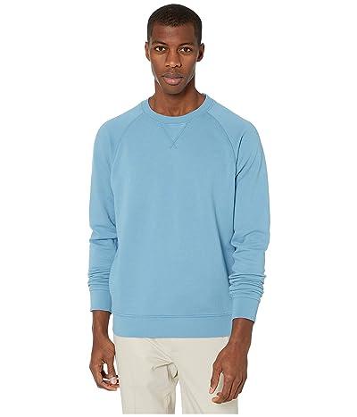 PACT Organic Cotton Essential Sweatshirt (Cadet Blue) Men