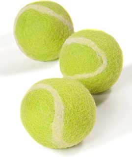 Twin Critters TennisWools - All Natural Tennis Balls for Dogs - 3 Pack - 100% Merino Wool