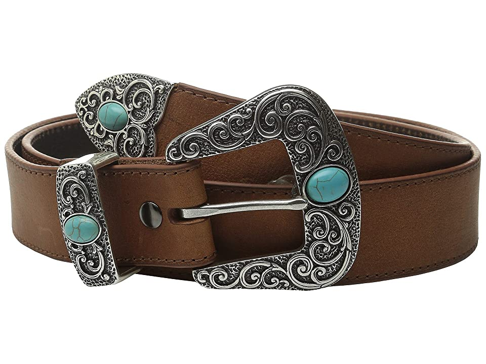 Ariat Turquoise Stone Belt (Brown) Women