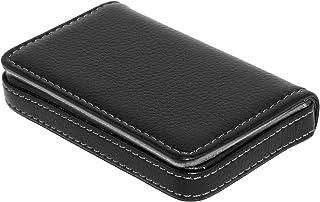 RiaTech Leather Card Case - Black