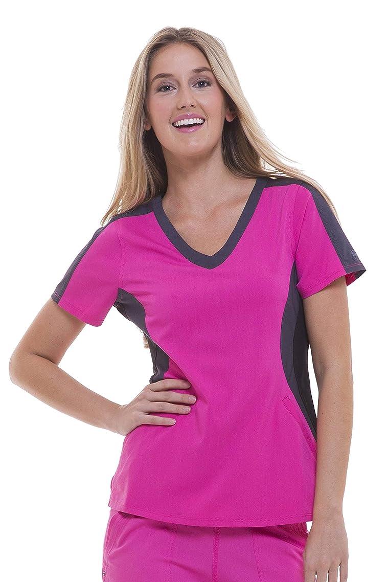 healing hands Purple Label Women's Jewel 2298 V-Neck Top Scrubs