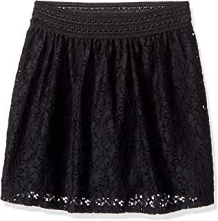 Amy Byer Girls' Big Picture Perfect Lace Skirt