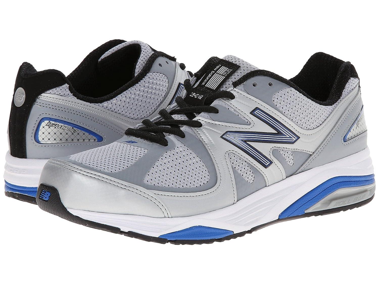 (ニューバランス) New Balance メンズランニングシューズ?スニーカー?靴 M1540v2 Silver/Blue 11 (29cm) 4E - Extra Wide