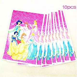 Party Tableware Six Princess Girls Birthday Party Decoration Tablecloth Christmas Flag Family Party Cup Plate Napkin Table...