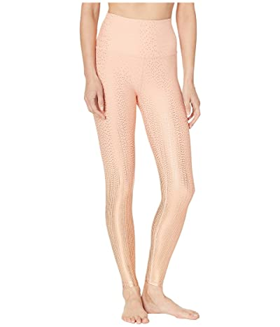 Beyond Yoga Drip Drop High-Waisted Midi Leggings (Coral Dust/Rose Gold Drip Drop) Women