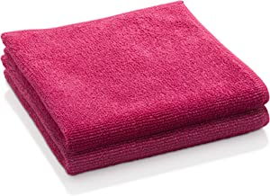 E-Cloth General Purpose Microfiber Cleaning Cloth, Raspberry Rose, 2 Count