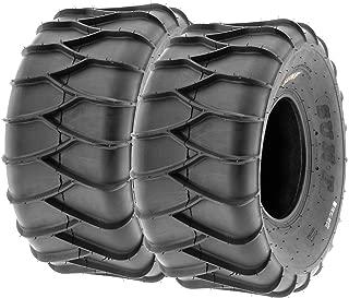 Set of 2 SunF A036 22x10-9 ATV/UTV Snow & Sand Tires, 6-PR