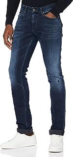 Tommy Jeans Homme SCANTON SLIM DYCBBS Pantalon, Dynamic Chester Blue Bk Str, W30/L32