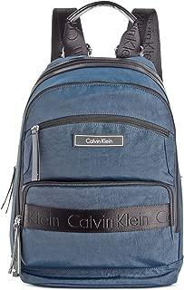 Calvin Klein Women's CKP Distressed Backpack Navy Backpack