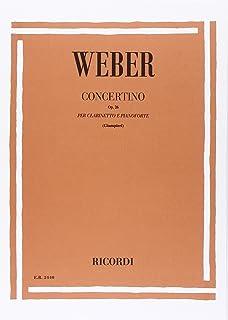 Concertino Op. 26 Clarinette