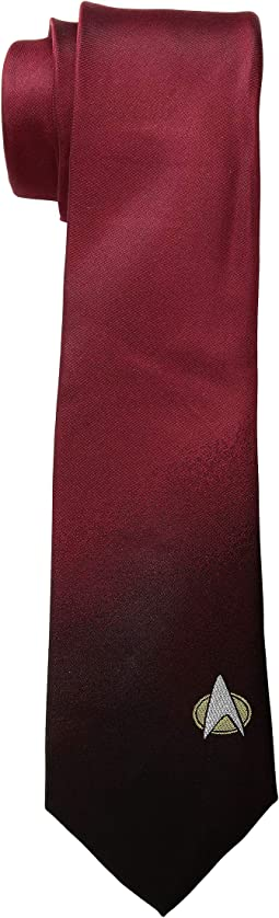 TNG Red Delta Shield Tie