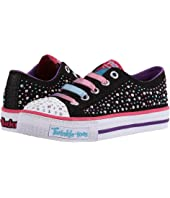 SKECHERS KIDS - Shuffles - 10627L Lights (Little Kid/Big Kid)