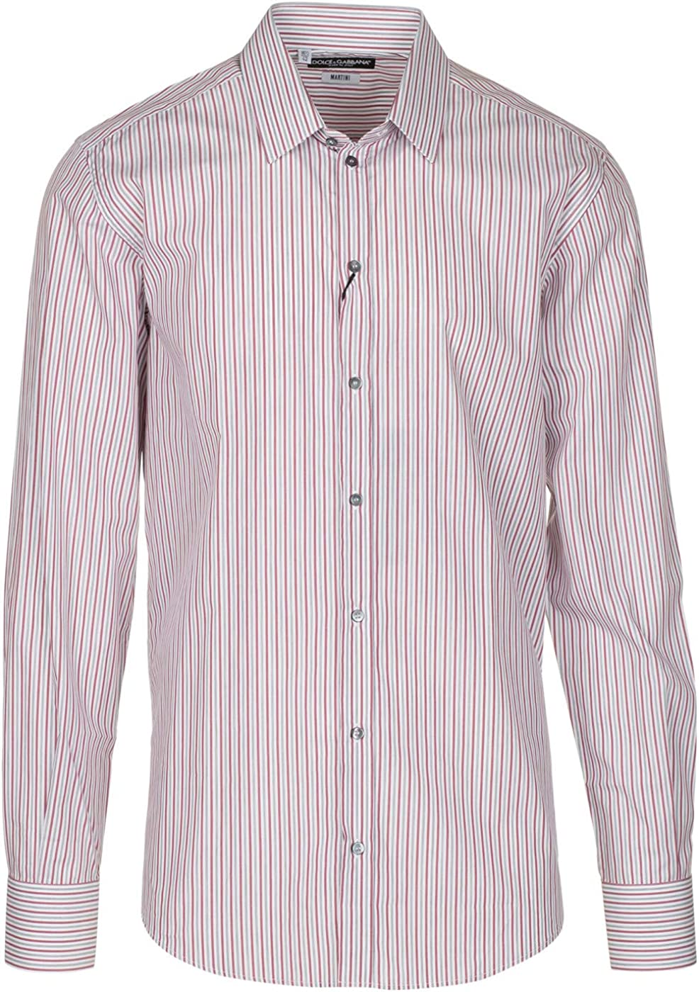 Dolce & Gabbana Men's 'Martini' Pinstripe Button Down Dress Shirt