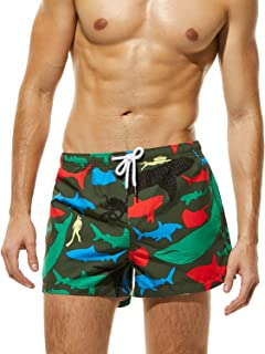 SEOBEAN Mens Sports Surfing Short Swimwear Board Shorts