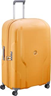 Delsey - Clavel 83cm Large 4 Wheel Hard Suitcase - Yellow
