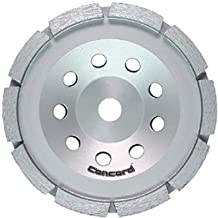 Concord Blades GCS070FCP 7 Inch Single Row Diamond Cup Wheel with 5/8