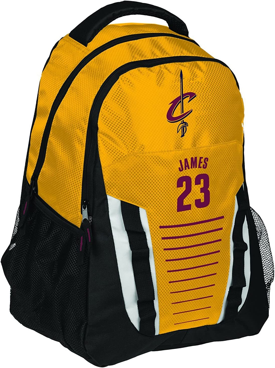 Cleveland A surprise price is realized Cavaliers Cheap SALE Start James L. Franchise Backpack #23 Stripe