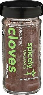 Spicely Organic Cloves Powder 1.60 Ounce Jar Certified Gluten Free