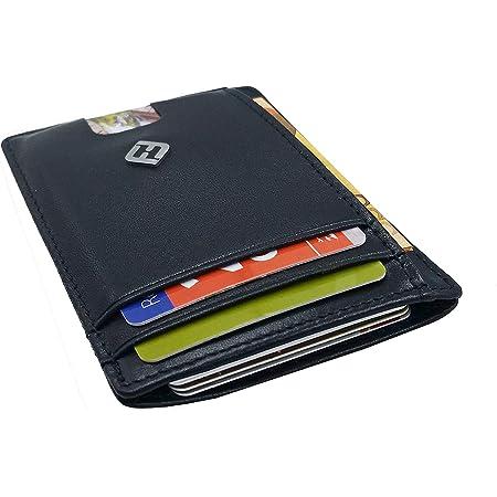 Kartenetui Geldbörse RFID Schutz Blocking Kreditkartenetui Geldbeutel für Herren