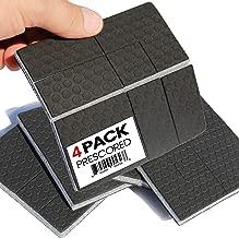 SlipToGrip Furniture Gripper, Stops Sliding Multi Size (4 Pads) - Make 4