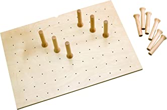 Rev-A-Shelf 30 x 21 Wood Peg Board Drawer Organizers, Natural