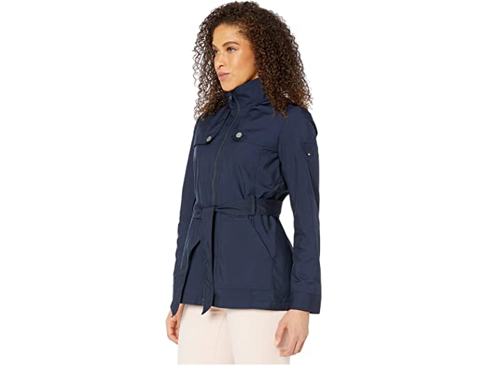Tommy Hilfiger Womens Adaptive Quilted Jacket with Magnetic Zipper