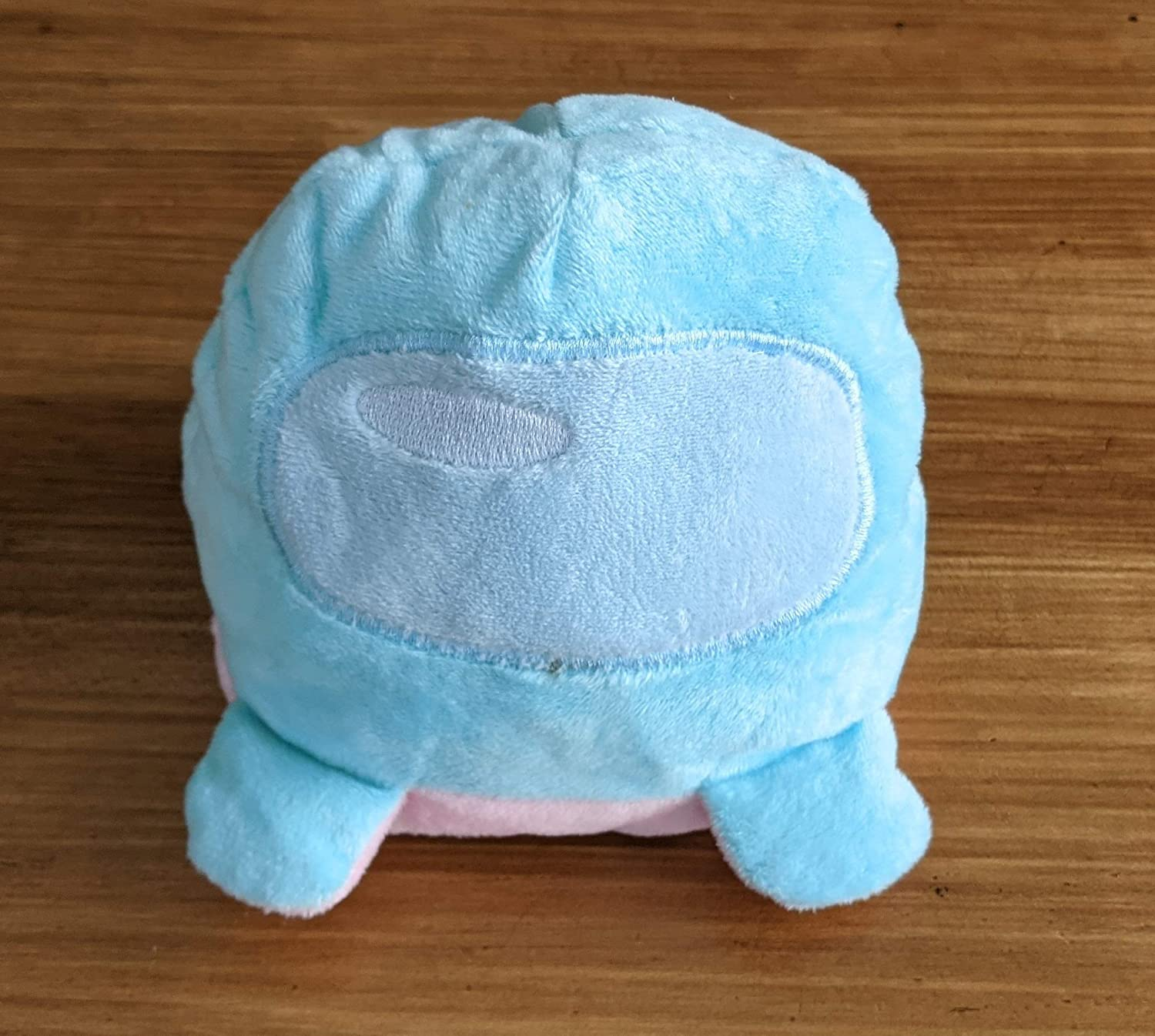 Among Us Double-Sided Plush Toy Blue and Green Teens Adults Boys Reversible Stuffed Animal Girls Turn Inside-Out Video Game Doll Cute and Soft Gift for Kids