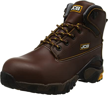 JCB Men's 4x4 T Chukka Boots, Tan, 8 UK : boots