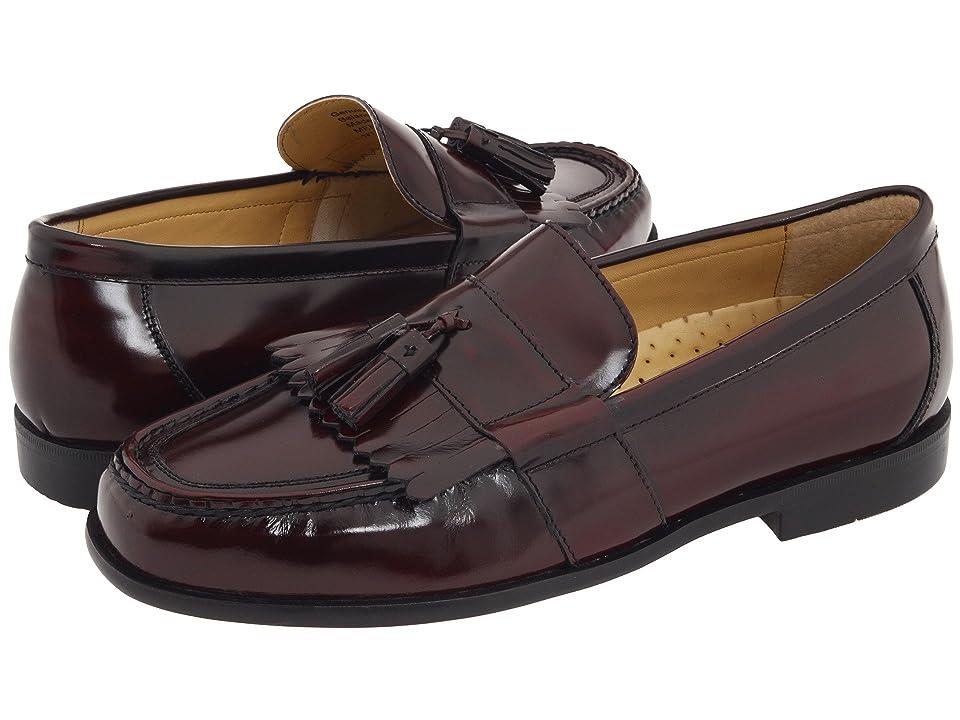 Nunn Bush Keaton Moc Toe Kiltie Tassel Loafer (Burgundy Smooth Leather) Men