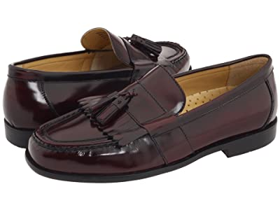 Nunn Bush Keaton Moc Toe Kiltie Tassel Loafer (Burgundy Smooth Leather) Men