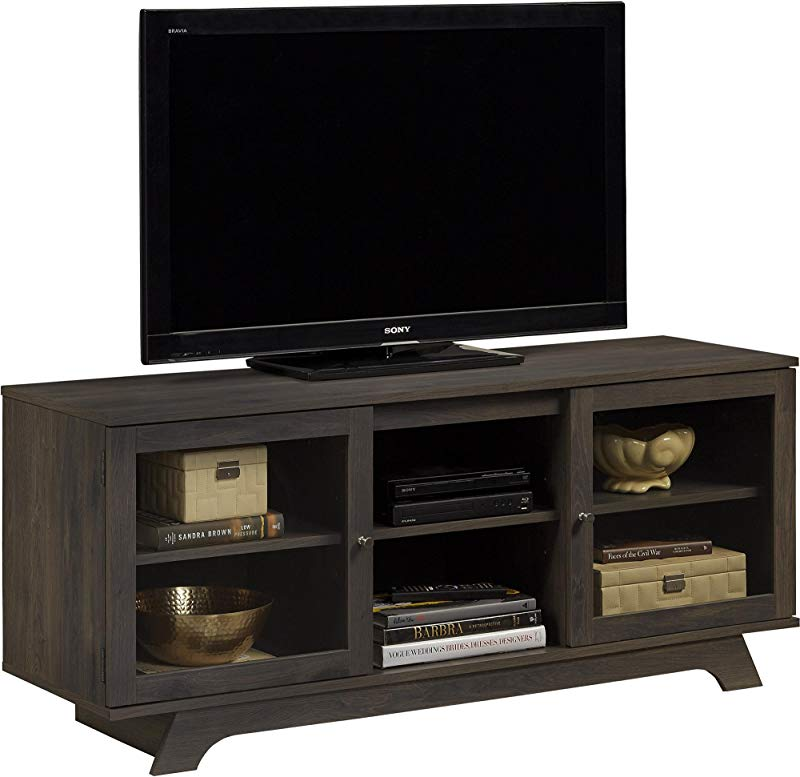 Ameriwood Home Englewood TV Stand For TVs Up To 55 Weathered Oak