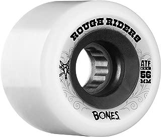Bones Wheels Rough Riders 59mm White Skateboard Wheels