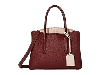 Kate Spade New York Margaux Medium Satchel (Cherrywood Multi) Satchel Handbags