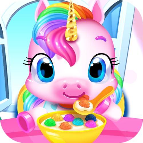 My Baby Unicorn & Panda Care - Kids Pet Games