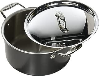 All-Clad 8701005448 LTD Cookware Stockpot, 8Qt Stock Port, Black