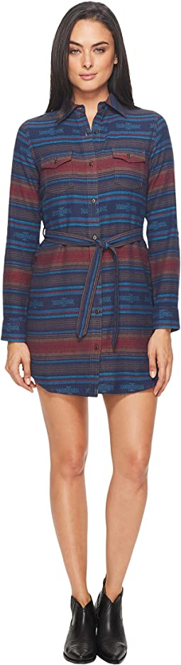 Wrangler - Long Sleeve Flannel Dress
